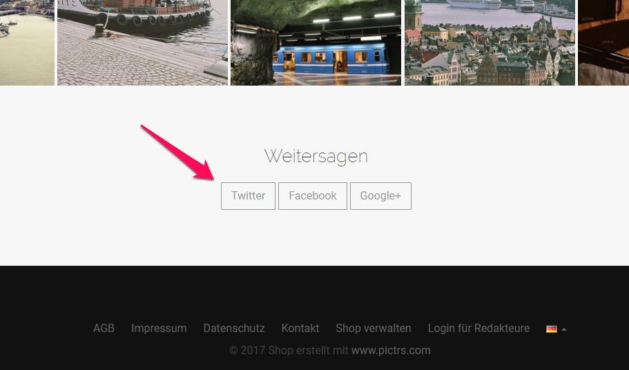 Webshop auf Social Media bewerben