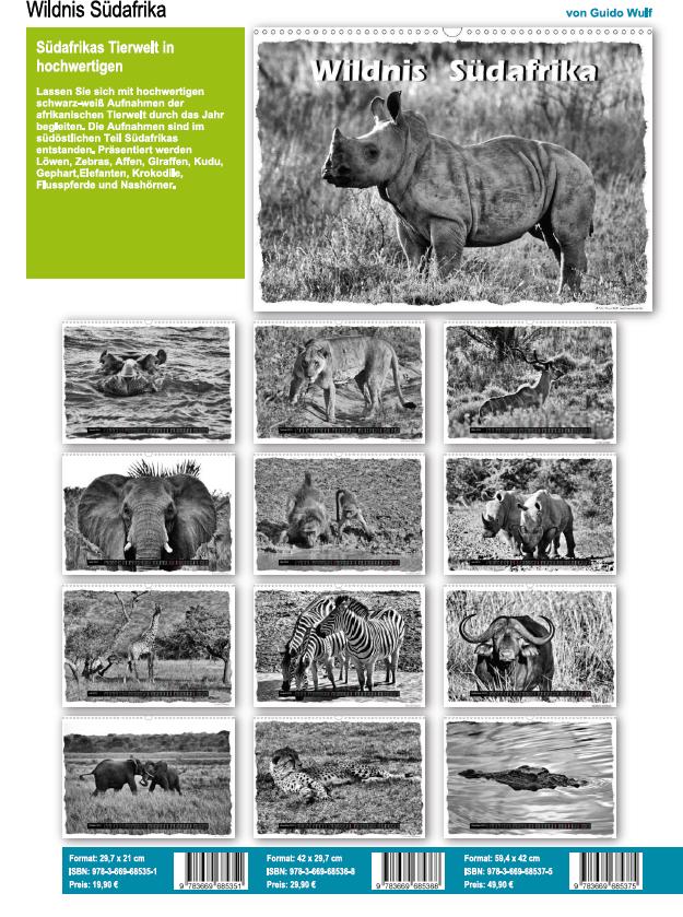 Wildnis Südafrika