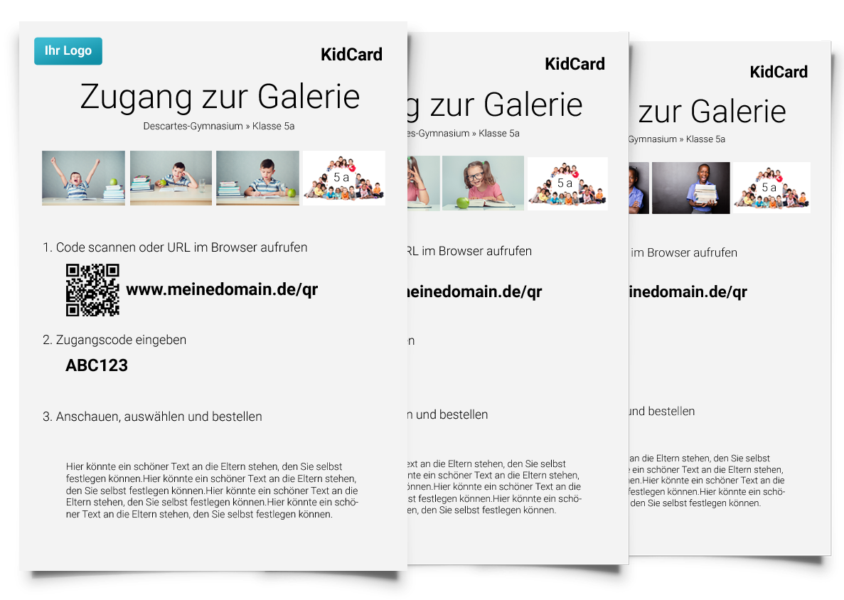 So sehen Pictrs-KidCards aus