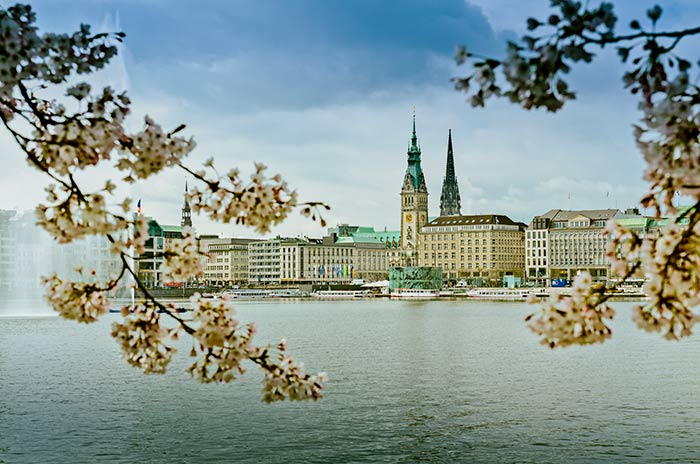 Bilder Online - Alster und Elbe