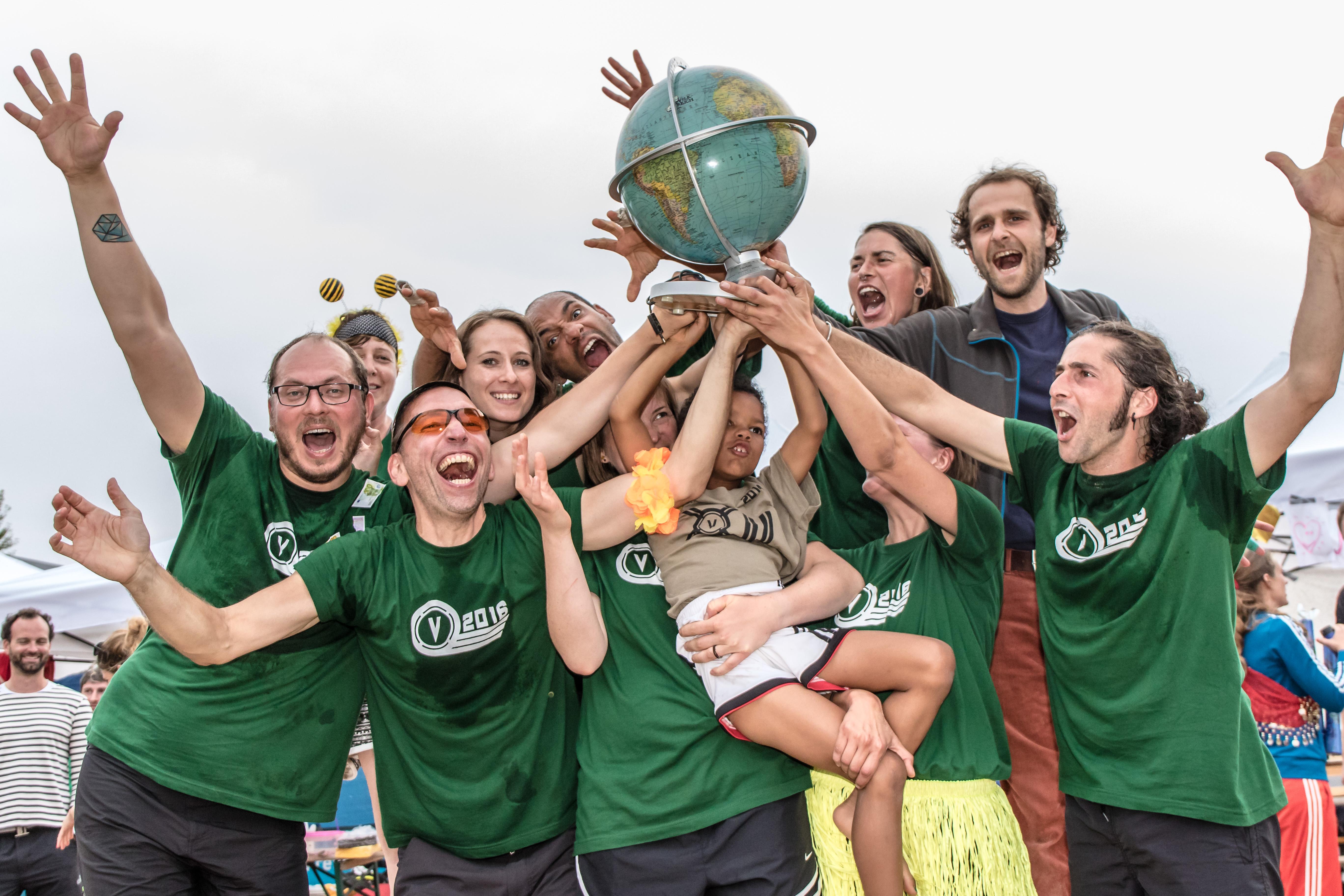 Strandvölkerball-WM 2016 Sieger R-Volk